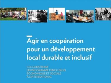 """Étude : """"Agir en coopération pour un développement local durable et inclusif"""" – Assemblée des départements de France"""