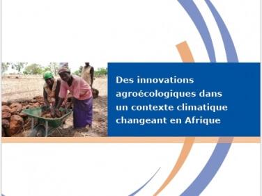 """Étude """"Des innovations agroécologiques dans un contexte climatique changeant en Afrique"""""""