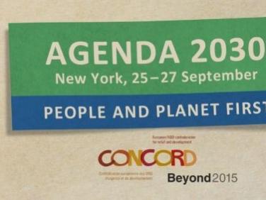 """Communiqué de presse : """"Agenda 2030 : la task force européenne appelle l'UE à l'action pour atteindre le bien-être pour tous au-delà des frontières"""" – Concord/Beyond 2015"""