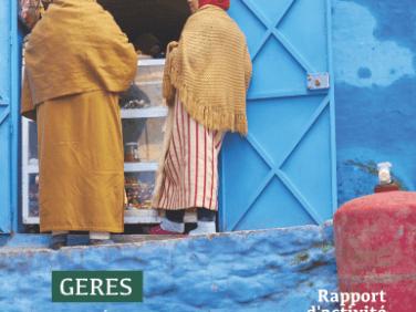 Le rapport 2015 du GERES: d'Afghanistan à ZAE