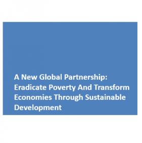 Un nouveau partenariat mondial : éradiquer la pauvreté et transformer les économies à travers le développement durable