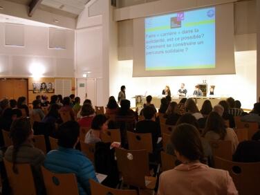 Conférence «S'engager en solidarité internationale» – Institut Bioforce