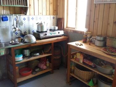 Maison de l'ONG, la cuisine