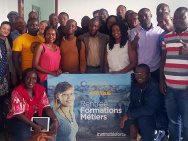 Centre Bioforce Afrique : une nouvelle génération d'humanitaires fait sa rentrée !