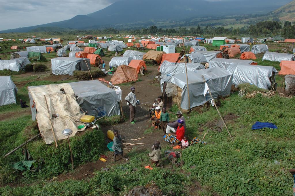Camp réfugiés RD Congo