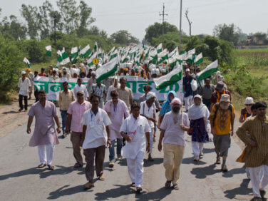 Condition et action politique des sans terres en Inde (Rencontre)