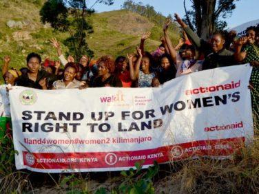Réalisation des droits fonciers des femmes en Afrique – Women to Kilimanjaro