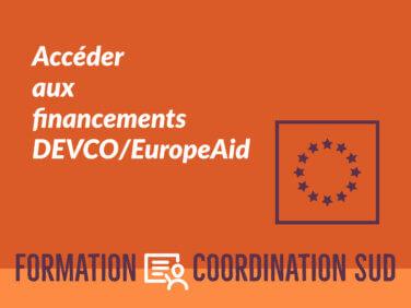 Gérer des contrats Devco/Europaid – niveau confirmé