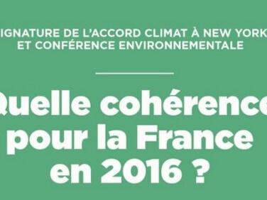 #AccordDeParis : quelle cohérence pour la France en 2016 ? – Réseau Action Climat France