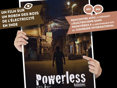 "Projection du film ""Powerless"" de Deepti Kakkar et Fahad Mustafa – Fondation GoodPlanet"