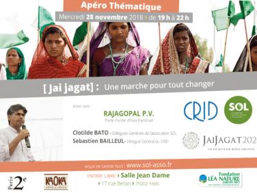 Soirée débat – Jai Jagat: une marche pour tout changer