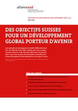 Position suisse sur un agenda de développement post-2015