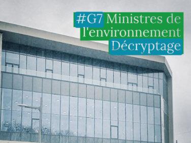 Présidence française du G7: Ministérielle Environnement – Enjeux et attentes des ONG
