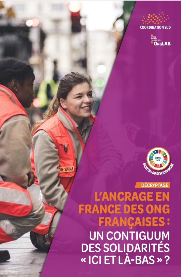 Ancrage france des ONG par Coordination SUD 2020