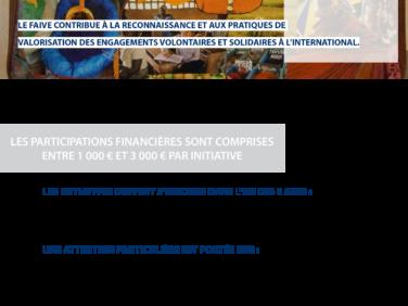 Le FAIVE lance un appel à initiatives, répondez-y avant le 12 mai 2017!