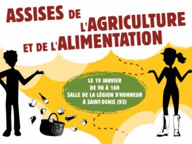 Assises de l'agriculture et de l'alimentation – Confédération Paysanne