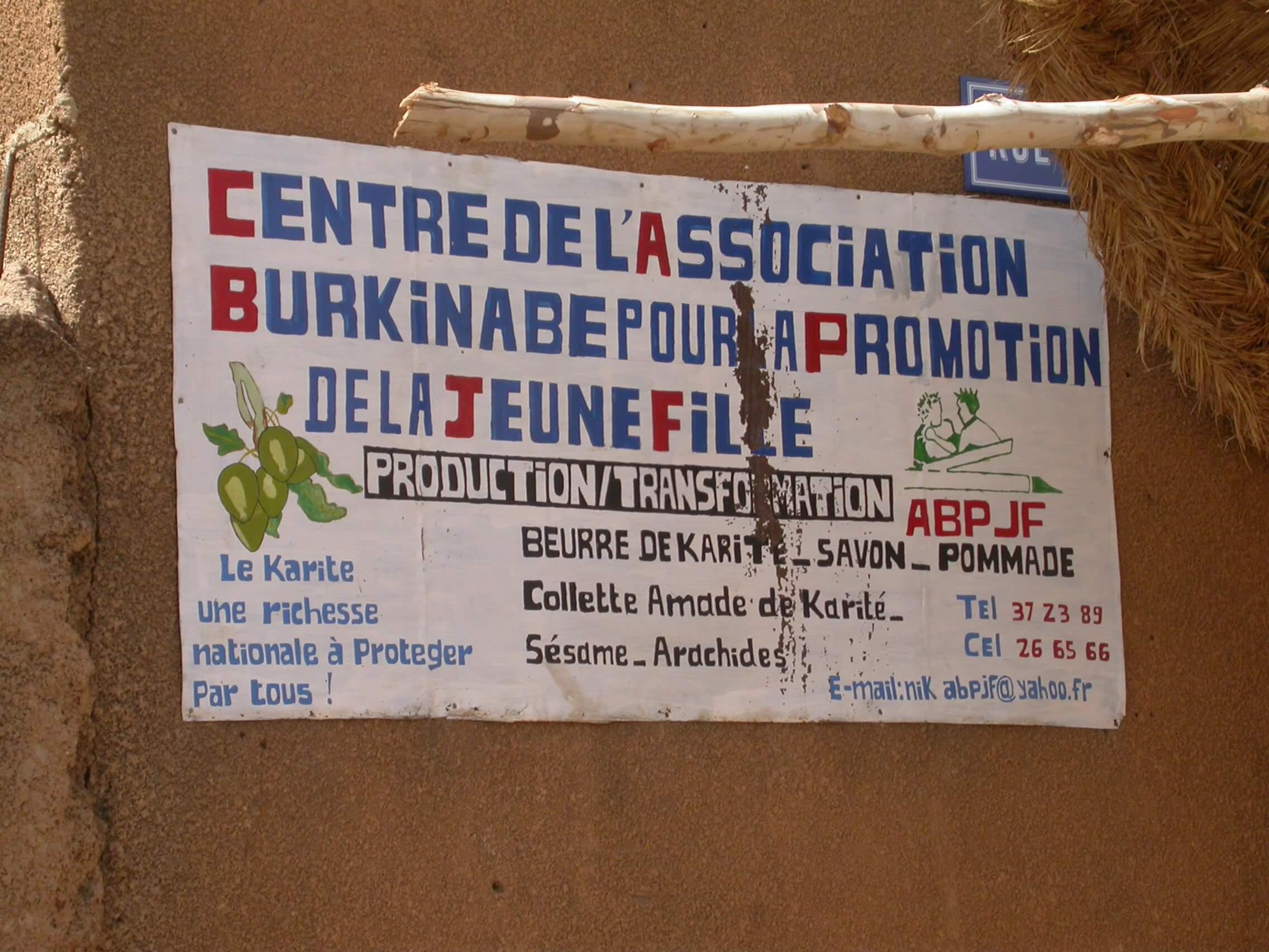 Association femme Burkina