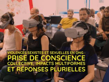 Violences sexistes et sexuelles en ONG: prise de conscience collective, impacts multiformes et réponses plurielles