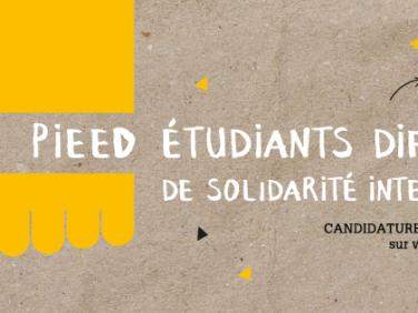 Le PIEED, l'appel à projets des étudiants diffuseurs de solidarité internationale !