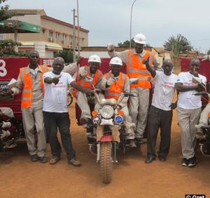 Collecte des déchets au Congo: les usagers satisfaits