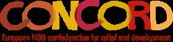 Logo Concord association de plaidoyer auprès de l'Union européenne