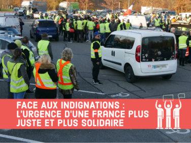 Communiqué du Mouvement associatif: «L'urgence d'une France plus juste et plus solidaire»