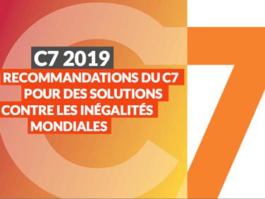 C7:  Pour des solutions contre les inégalités mondiales (Recommandations)
