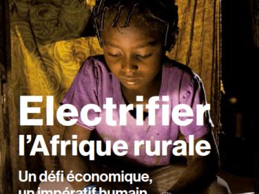 Publication sur l'énergie en Afrique
