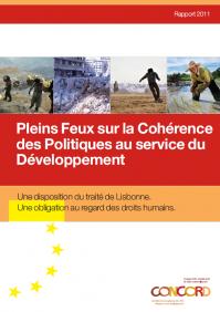 Rapport sur la cohérence des politiques européennes au service du développement – Concord