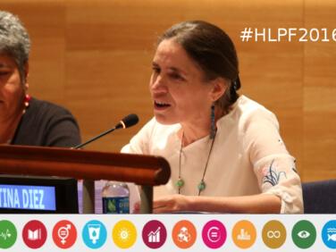 Forum politique de haut niveau sur le développement durable, l'analyse d'ATD Quart-Monde