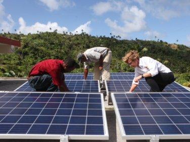 Electriciens sans frontières remporte le Prix ONU de l'action climatique!