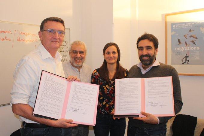 signature conventionn partenariat Coalition Eau_Coordination SUD