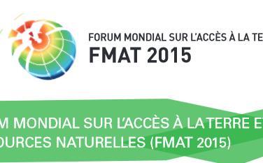 Signez l'appel pour le Forum Mondial sur l'accès à la terre 2015 !