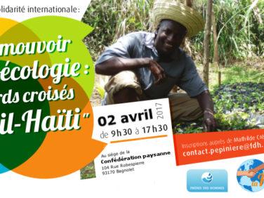 Promouvoir l'agroécologie : régards croisés Brésil-Haïti