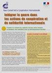 Intégrer le Genre dans les Actions de Coopération Internationale