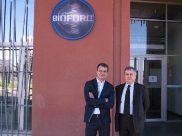 Bernard Sinou et Gilles Collard, nouveaux président et directeur général de l'Institut Bioforce