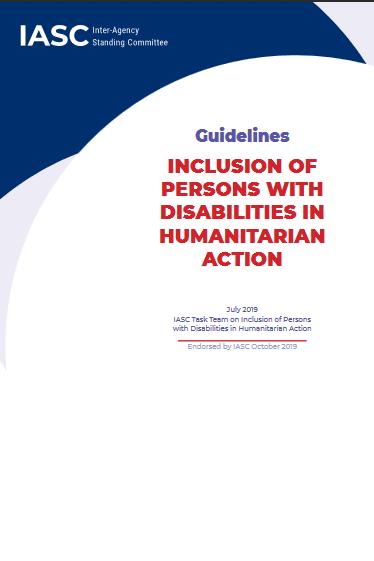 Accompagner les travailleurs humanitaires pour mieux inclure les personnes handicapées - Coordination SUD