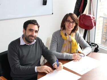 Signature de la convention de partenariat Coordination SUD/Coalition Eau