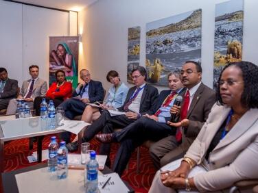 Addis-Abeba : la conférence sur le financement n'oublie pas pour autant les enfants