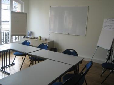 Salle disponible pour vos réunions chez Coordination SUD
