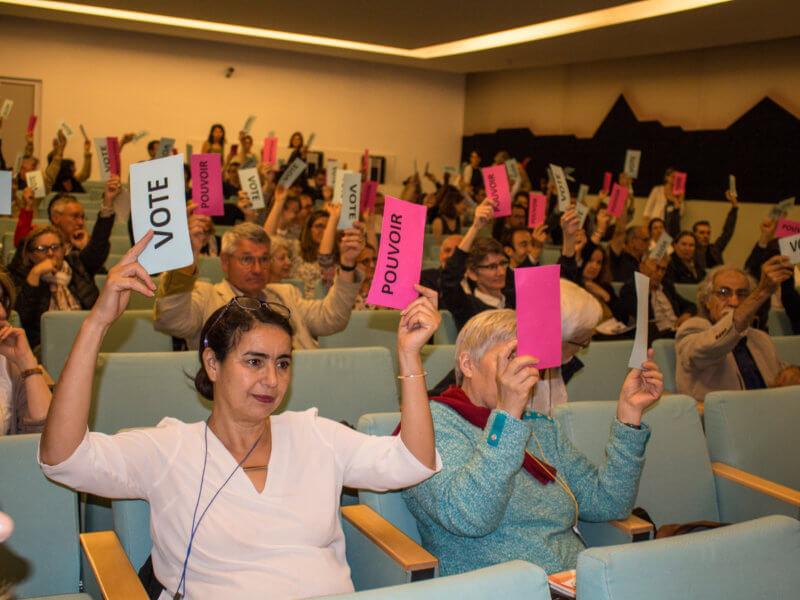 Vote du Conseil d'administration de Coordination SUD