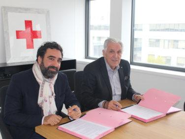 Coordination SUD et la Croix-Rouge française signent une convention de partenariat