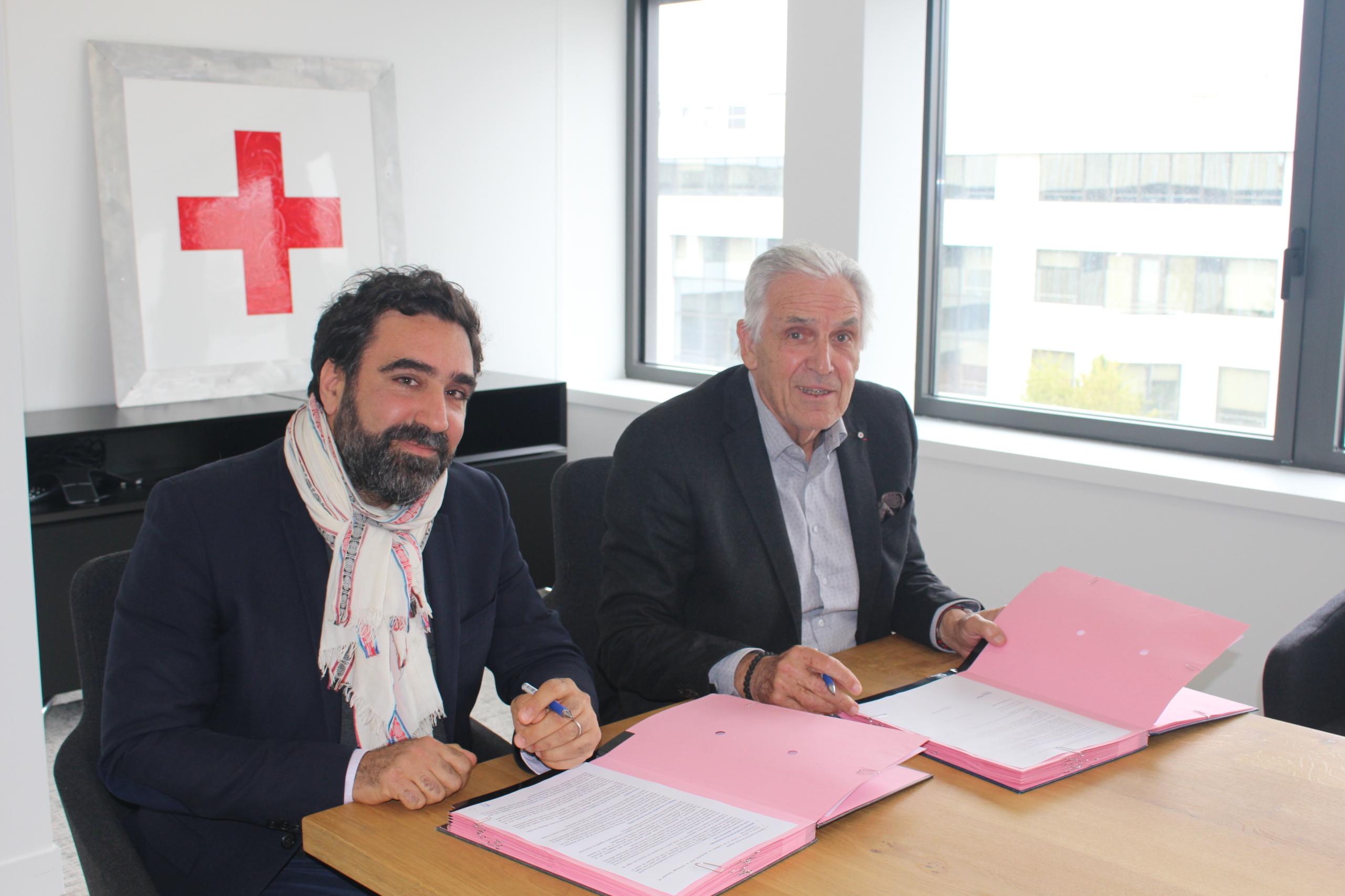 Convention de partenariat Coordination SUD-La Croix Rouge française
