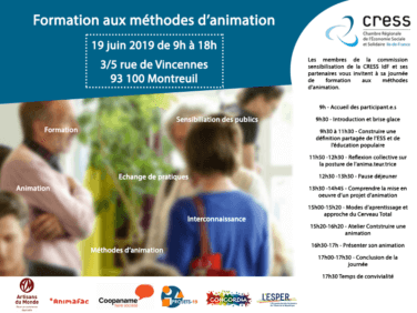 Méthodes d'animation