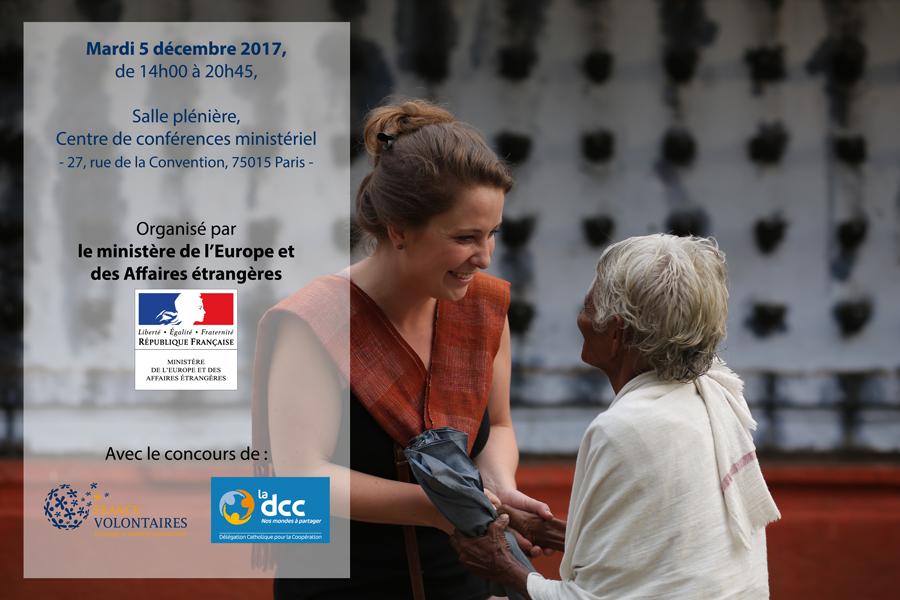 La Journée Internationale des Volontaires, mardi 5 décembre 2017