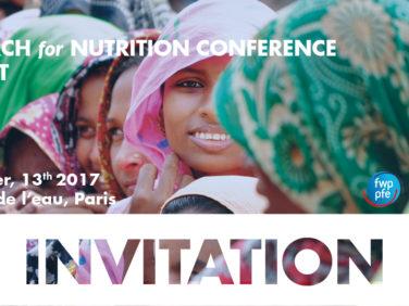Conférence de Recherche pour la Nutrition #R4NUT – Action contre la Faim