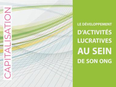 Capitalisation: «Le développement d'activités lucratives au sein de son ONG» – 2014