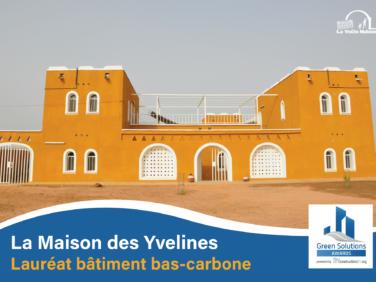 Une maison en voûte nubienne lauréate bas-carbone des Green Solutions Awards