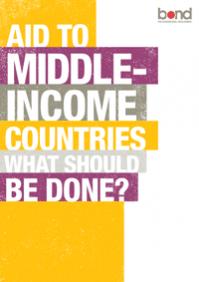 Rapport de Bond sur l'aide aux pays à revenu intermédiaire