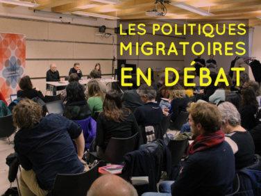 Les politiques migratoires en débat à Coordination SUD!